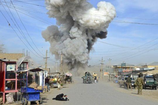 Tiga polisi dan 85 petempur ISIS tewas dalam bentrok di Afghanistan