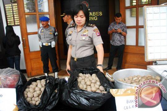 Polisi tetapkan tersangka pembuat bakso celeng