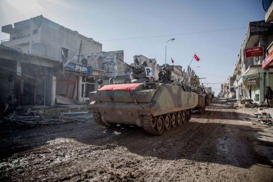 Menlu: kemungkinan operasi Turki tak terkait penarikan pasukan AS