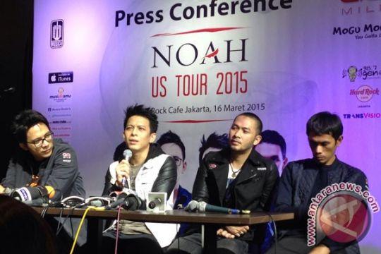 Tur ke AS, NOAH serasa band baru
