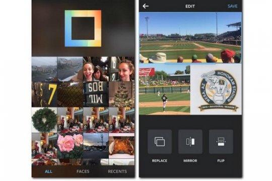Instagram masukkan fitur kolase foto dalam aplikasinya