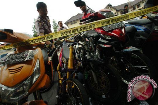 Motor pelaku balap liar disita tiga bulan di Banjarmasin