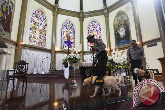 Polres Magetan sisir gereja jelang perayaan Paskah