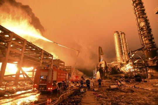 47 orang tewas dalam ledakan di pabrik kimia China