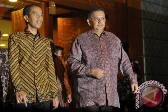 Presiden Jokowi resmikan pembangunan pembangkit listrik Sumatera