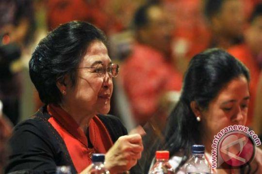Megawati soal dua anaknya jadi pengurus DPP PDIP 2015-2020