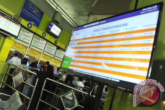 Sistem check in baru diterapkan di Stasiun Gambir