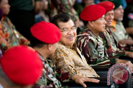 Jusuf Kalla: Kopassus TNI AD tetap berjuang di tengah keterbatasan