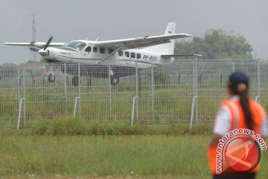 BENCANA ASAP - Bandara Muara Teweh beroperasi lagi