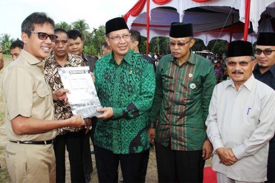 Realisasi pembangunan asrama haji Padang Pariaman sudah Rp113 miliar
