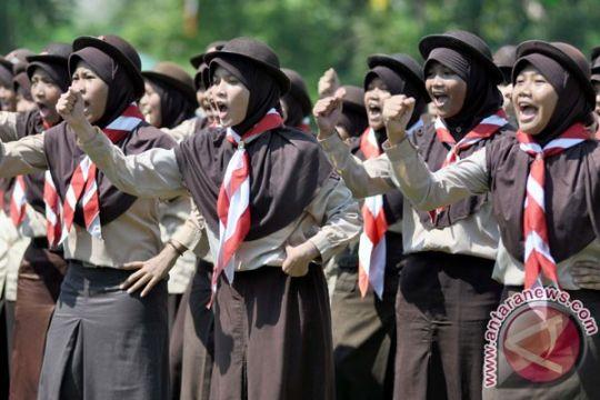 25.000 anggota Pramuka Bandarlampung pecahkan rekor MURI
