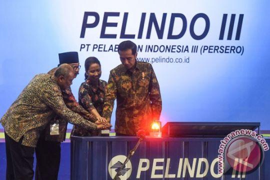 Presiden resmikan revitalisasi alur pelayaran barat Surabaya