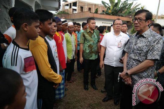 IOM kunjungi Medan layani anak-anak pengungsi imigran