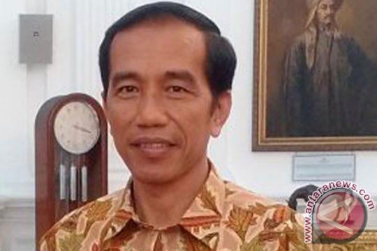 Presiden Jokowi buka bersama para pengelola media
