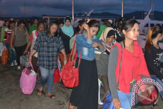 Malaysia deportasi 43 TKI melalui Entikong