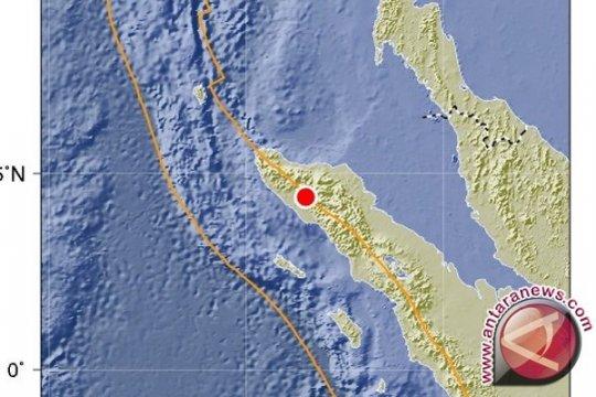 Gempa magnitudo 5,4 guncang Nagan Raya