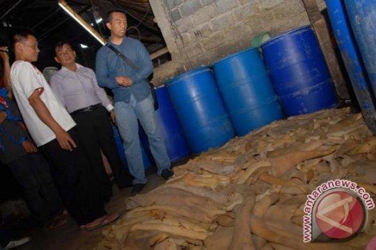 Polsek Sukaraja Bogor temukan penjual kikil berpemutih