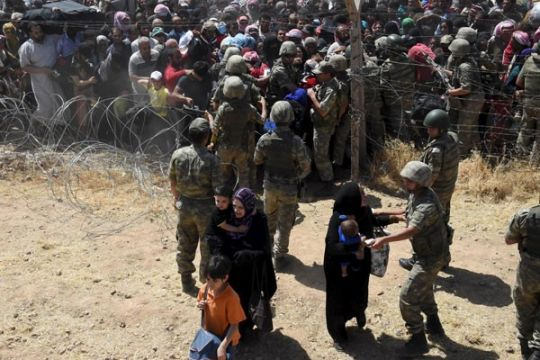 Krisis pengungsi Suriah membuat pencari suaka membludak