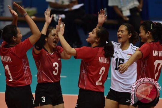 SEA Games 2017 - Tim putri voli Indonesia lolos ke final, penantian 20 tahun