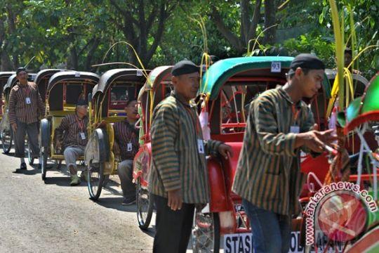 Jokowi santuni tukang becak yang meninggal
