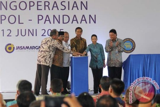 Presiden Jokowi akan resmikan Tol Gempol-Pandaan