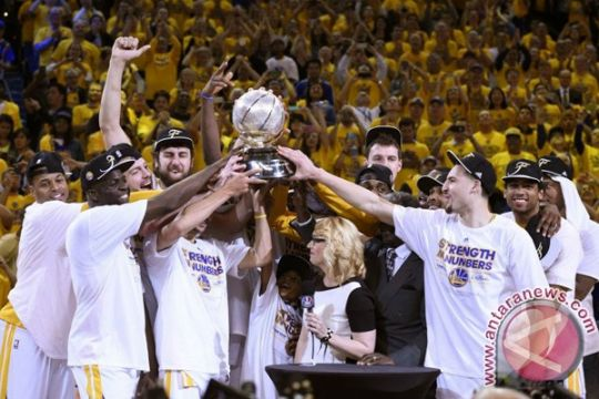 Golden State Warriors juara NBA