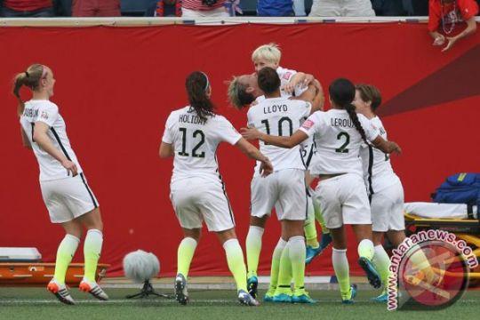 Amerika Serikat lolos ke final Piala Dunia Wanita