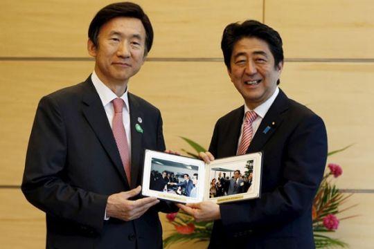 PM Abe berjanji perbaiki hubungan dengan Korsel