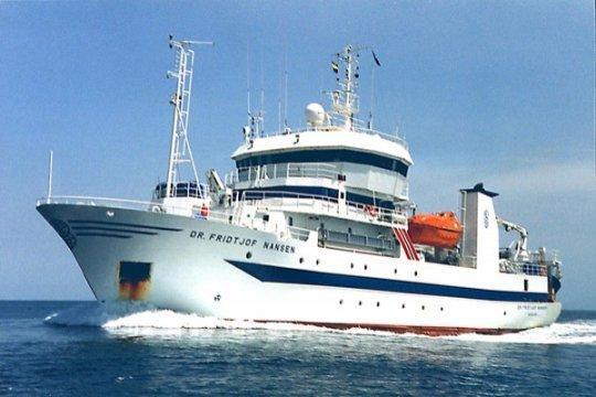 Kapal RV Dr Fridjof Nansen teliti Samudera Hindia