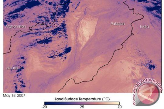 Gelombang panas Pakistan tewaskan 65 orang di Karachi