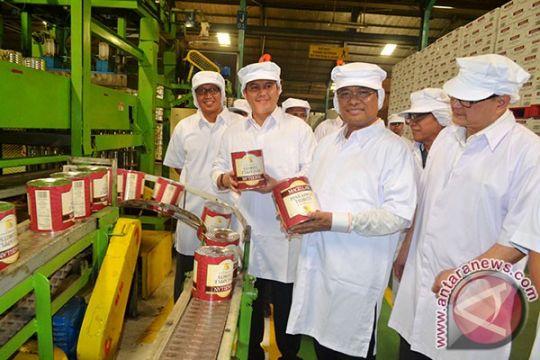 Menperin apresiasi perusahaan penghasil produk nanas terbesar ketiga