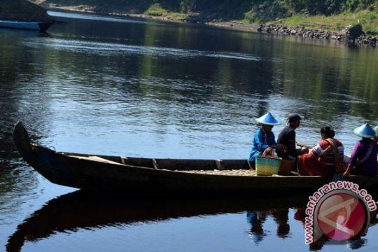 Ketinggian air Bengawan Solo di Ngawi capai 6,8 meter