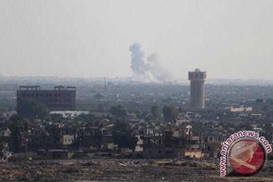Militer: serangan udara Mesir tewaskan 100 gerilyawan di Sinai Utara