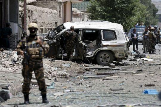 Serangan bom mobil di pertandingan gulat tewaskan 10 orang di Afghanistan