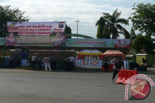 Saat mudik, ada dua pos polisi di lokasi rawan perampokan Musi Rawas