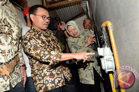 Surabaya jadi percontohan pengembangan jaringan gas bumi