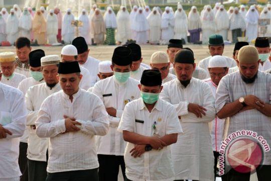Polisi Kalimantan Tengah shalat Istisqo mohon hujan