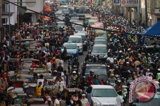 Pengunjung Pasar Baru Bandung capai rekor tertinggi