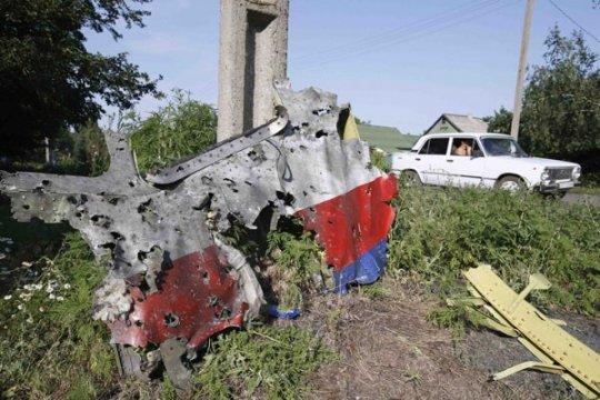 Rusia mundur dari perundingan jatuhnya pesawat MH17