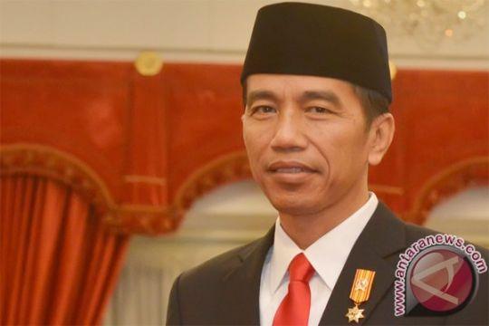 Presiden Jokowi terima Presiden IDB