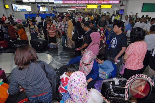 Hari ini puncak arus balik bandara Soekarno-Hatta