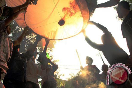 Pilot diminta waspadai balon udara di atas Jateng