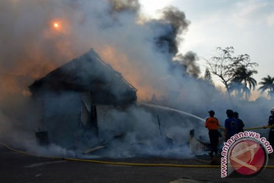 Polisi Bogor selidiki penyebab kebakaran penitipan motor