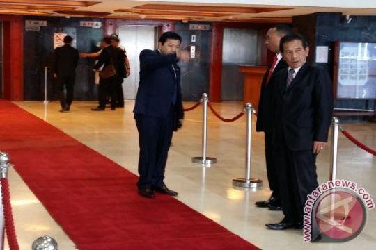 Sambut Presiden Turki, Ketua DPR atur pembatas karpet merah