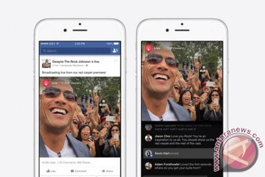 Facebook Mentions, fitur live streaming khusus selebriti