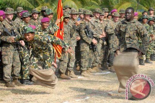 264 marinir Indonesia-AS latihan bareng di Situbondo
