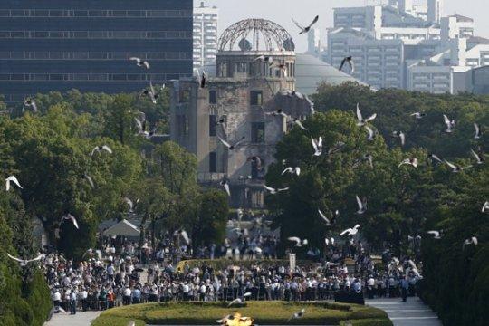 Nagasaki peringati 70 tahun bom atom dijatuhkan