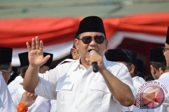 Prabowo-Sandiaga hindari arak-arakan saat pengundian nomor urut