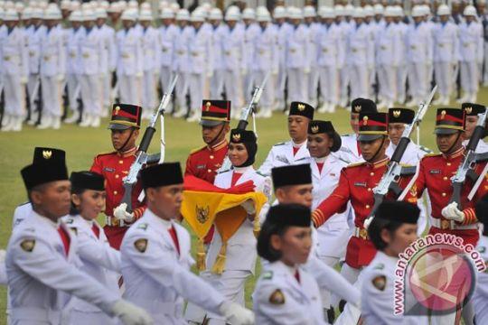 68 calon Pasukan Pengibar Bendera Pusaka nasional digembleng di Cibubur