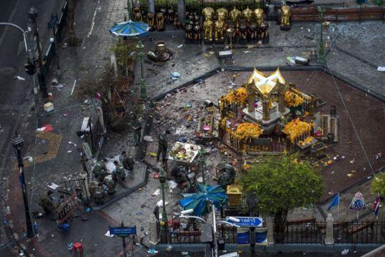Ledakan Bangkok bunuh 20 orang, di antaranya 11 WNA